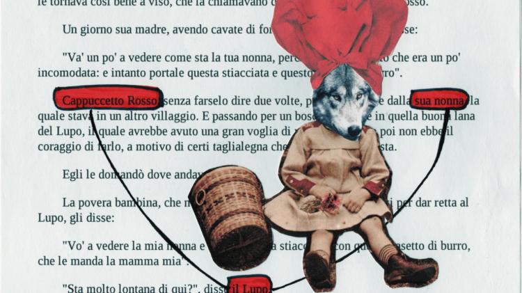 Nel raccolto dei racconti di giugno: Cappuccetto Rosso è il lupo