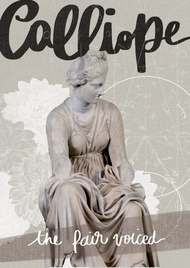 Musa Calliope, muses desktop cards